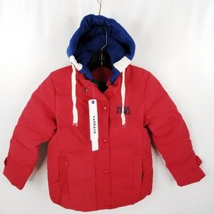 Kids Size Small Winter Hooded Jacket Coat Warm